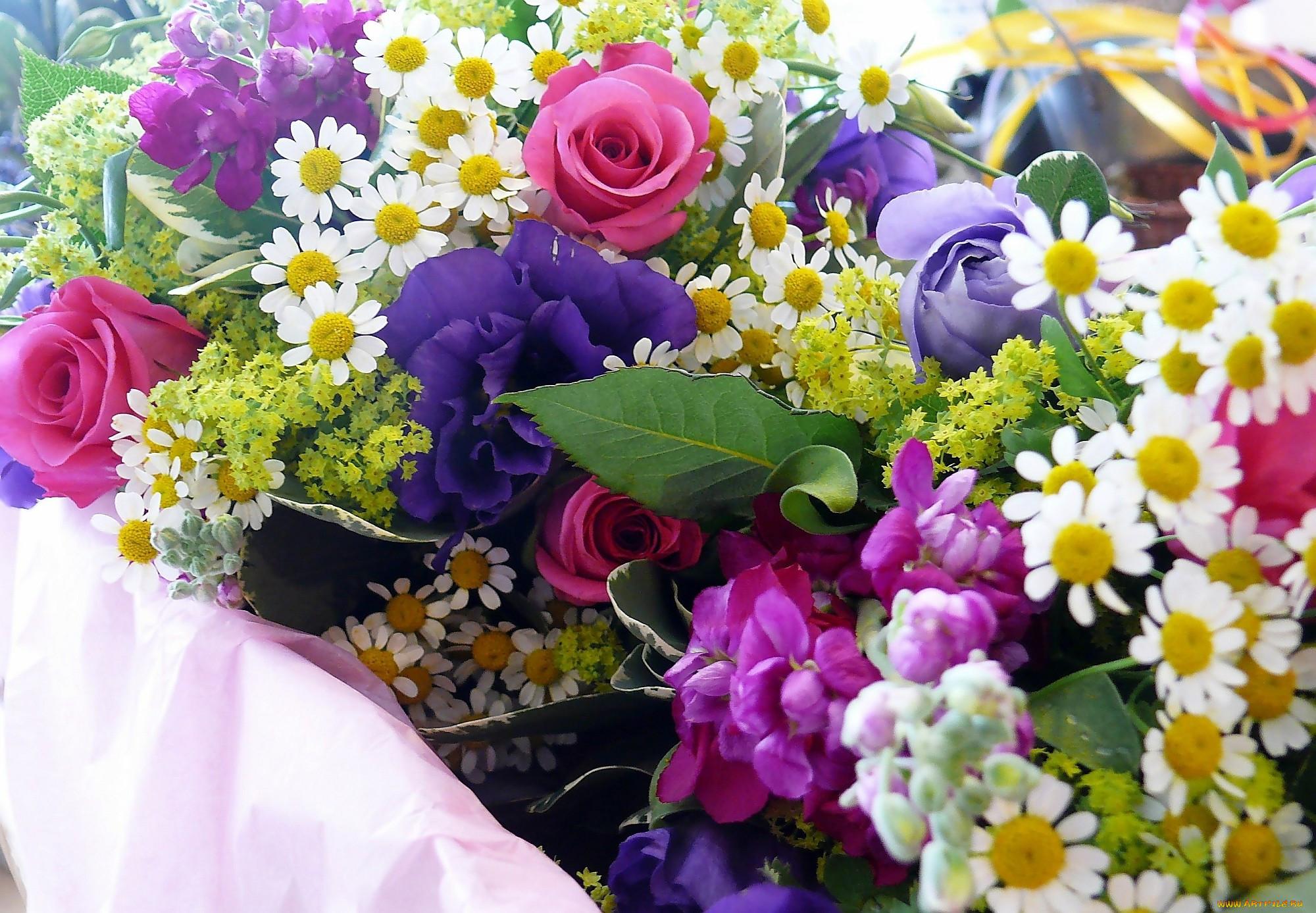 Цветы картинки букеты с разными цветами